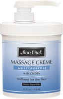 Multi-Purpose Massage Creme - 14 oz