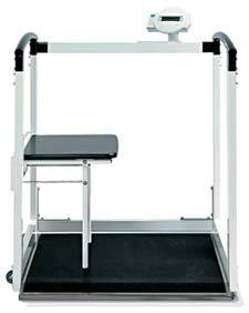 Multifunctional Scale w/ Handrail & Fold Up Seat