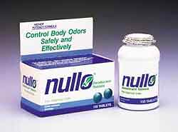 NULLO Deodorant Tablets