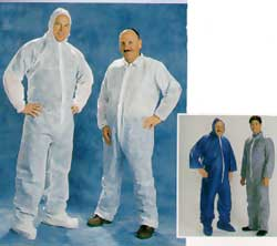 Navy Blue Light Weight  Polypropylene Coverall