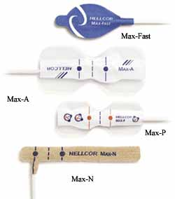 Nellcor MAX-P Pediatric Adhesive Disposable Sensor 24 per case