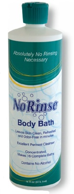 No-Rinse Body Bath with Odor Eliminator