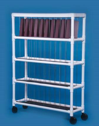 PVC Construction Notebook Chart Rack