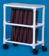 PVC Notebook Chart Rack, Holds 10 Binders