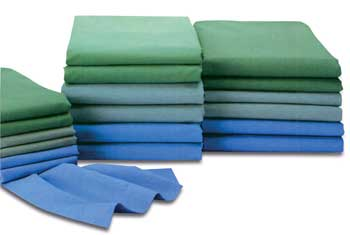 Charmant Jade Green O.R. Bed Sheets 55 X 72