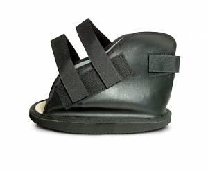 Vinyl Open Toe Cast Boot