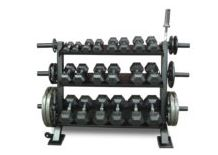 Olympic Plate Attachment for Dumbbell Rack