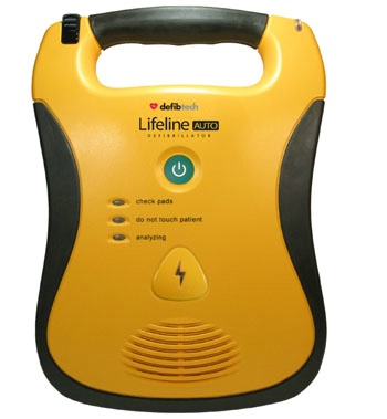 One-Button Defibrillator