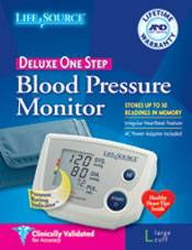 One Step Plus Memory Blood Pressure Monitor