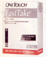 OneTouch FastTake Test Strips