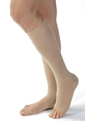 Opaque 15-20 mmHg Knee-Hi Stockings