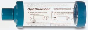 Opti-Chamber Holding Chamber for Meter Dose Inhalers with Mask