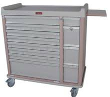 All-Aluminum Medication Box Cart Package