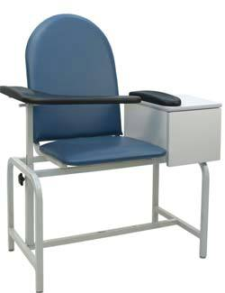 Padded Phlebotomy Chair w/ Drawer