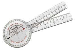 Plastic Orthopedic Goniometer