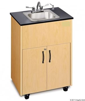 Stainless Steel Single Basin Portable Hand Wash Station