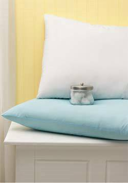 White Antimicrobial Pillows 18in 24in