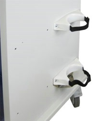 Oxygen Tank Brackets w/ Adjustable Straps