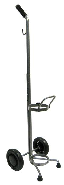 Oxygen Cart Adjustable Height