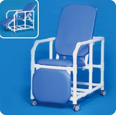 MRI PVC Recliner  Transport Chair