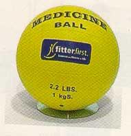 15.4 lb Medicine Ball