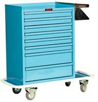 Painted Steel Cast Cart Standard Package