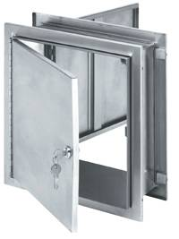 Pass-Thru Stainless Steel Narcotic Cabinet