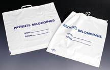 Patient Belonging Bags
