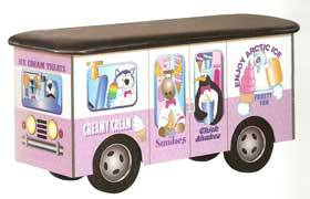 Pediatric Exam Table Frosty Friends Ice Cream