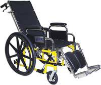 Pediatric Recliner Wheelchair
