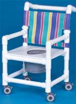 Pediatric Shower Chair Commode, 20in High