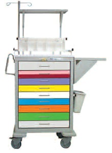Pediatric Steel Cart Accessory Package