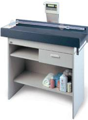 Pediatric Exam Table w/ Storage & Digital Scale