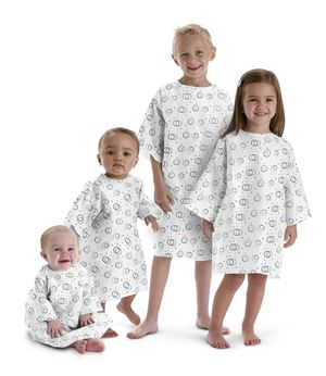 Disposable Pediatric Gowns 6-12 Month Old