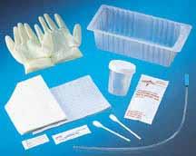Peel-Lid Urethral Catheterization Trays, Sterile