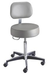 Pneumatic Exam Stool Backrest