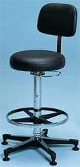 Pneumatic Lab Stool