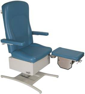 Podiatry Chair w/ 3 Function Foot Control
