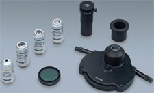 Polarizing Kit Option w/ Simple Polarizer & Analyzer