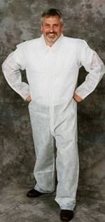 Polypro II Coveralls with Open Cuffs and Ankle (S-XL)