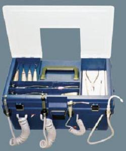 Portable Dental Delivery Unit with S.E.Suction ProCare II 220 V