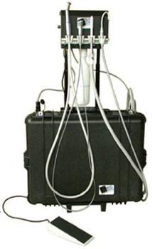 Portable Dental Delivery System ProQuest II with Fiber Optics (110 V)