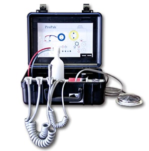 Portable Dental Delivery Unit ProPak II with A.V.S. Suction