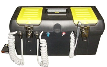 Portable Dental Delivery Unit with Compressor ProCare 110 V