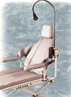 Portable Dental Halogen Light ProBrite 220  - Chair Mount