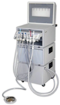 Portable Dental Modular Operatory System - Portable II 110 V
