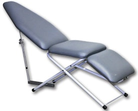 Portable Dental Patient Chair UltraLite - Scissor Base