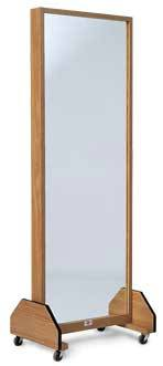 Posture Mirror w/ Wheels