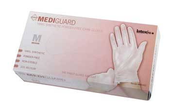 Vinyl Synthetic Exam Gloves