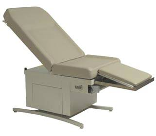 Power Hi-Lo and Manual Back Exam Table